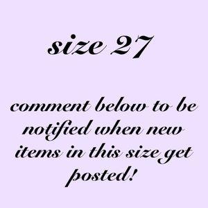 🌸 SIZE 27 ITEMS BELOW! 🌸